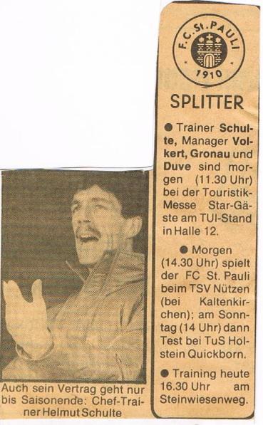St. Pauli Spiele
