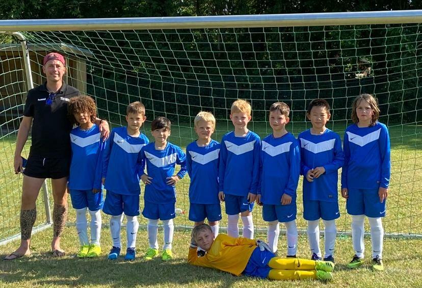 F-Jugend Mannschaftsfoto